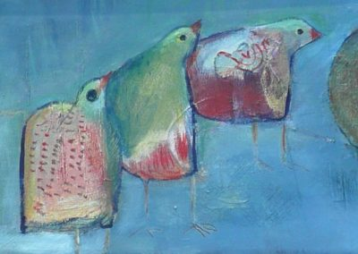 Fugl leder fugl