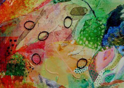 Collage med spirer