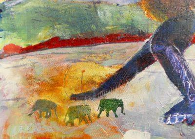 Der er også små elefanter