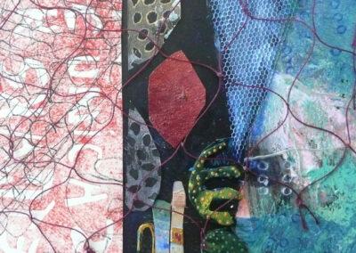 Collage med net