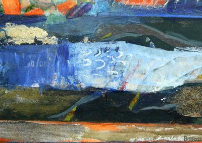 Collage med båd